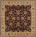 Hand-tufted Casa Plum Wool Rug (6&#39; x 6&#39;)
