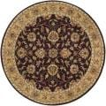 Hand-tufted Casa Plum Wool Rug (8&#39; Round)