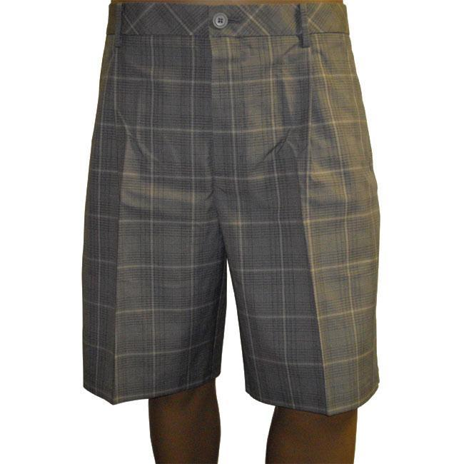 London Fog Men's Ashworth EZ-Tech Plaid Shorts