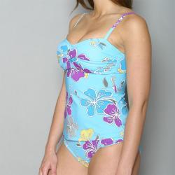 Jag Women's Retro Hawaiian Tankini Swimsuit