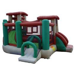 KidWise Clubhouse Climber Inflatable Bounce House