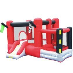 KidWise Little Raceway Inflatable Bounce House