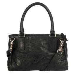 Givenchy 'Pepe Pandora' Small Black Leather Satchel
