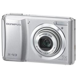 Olympus X-43 14MP Silver Digital Camera
