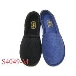Men's Cotton Terry House Slippers (Case of 48 Pair)