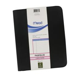 Mead 8.5x11-inch Zippered Padfolio