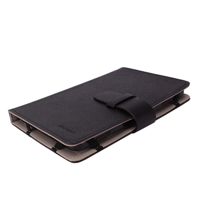 7-inch Tablet Black Leather Protector Case