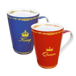 Konitz King and Queen Mugs (Set of 2)