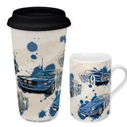 Konitz 'Legends on Wheels' Coffee Mugs (Set of 2)