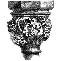 LaBlanche 'Stonework Fragment 3' Silicone Stamp