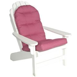Mia Adirondack Outdoor Mauve Red Patio Chair Cushion