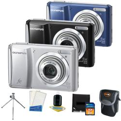 Olympus FE-47 14MP Digital Camera with 2GB Kit (Refurbished)