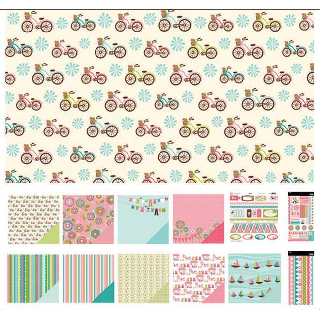 Chloe Caboodle 12x12-inch Page Kit