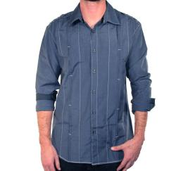 191 Unlimited Men's Blue Shirt