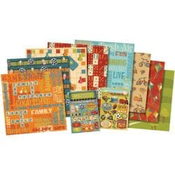 Karen Foster 'Family Fun Frenzy' Scrapbook Kit (12 x 12)
