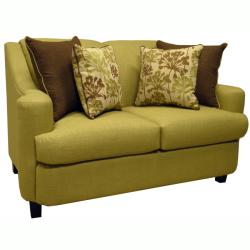Lansing Lime Green Fabric Sofa Bed Sleeper And Loveseat 13642009 Shopping