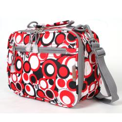 J World 'Cody' Red Chess Cody Lunch Tote