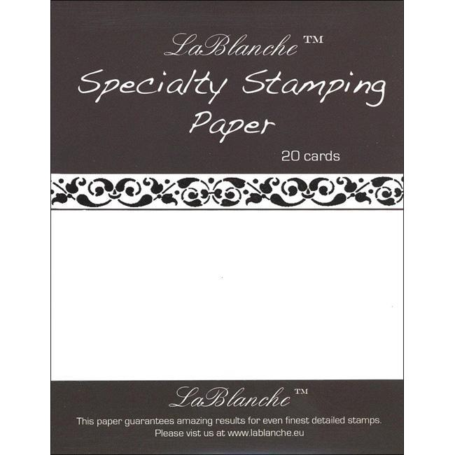 Lablanche A6 Speciality Stamping Paper (Pack of 20)