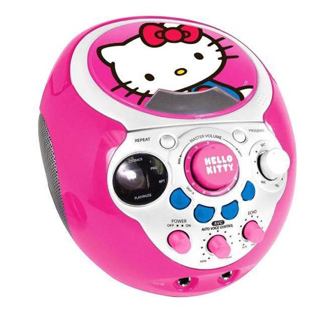 Hello Kitty Karaoke Machine With Screen Hello Kitty cd g Mini Karaoke