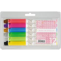 Zig Memory System Wink of Stella Glitter Markers (Pack of 12)