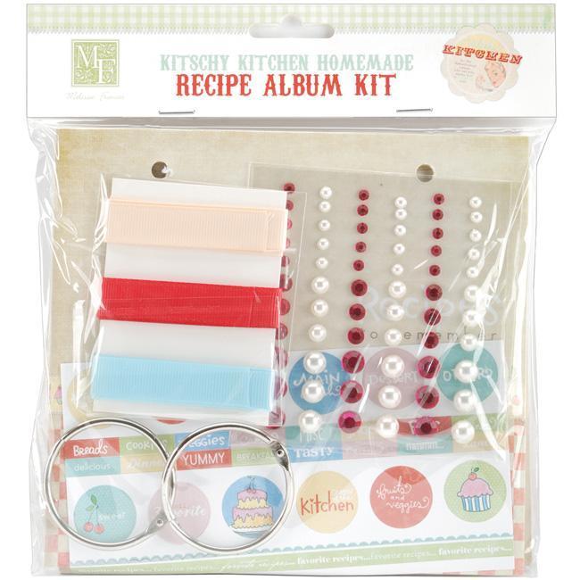 Kitschy Kitchen Homemade Recipe Album Kit