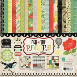 For the Record Collection Scrapbook Kit