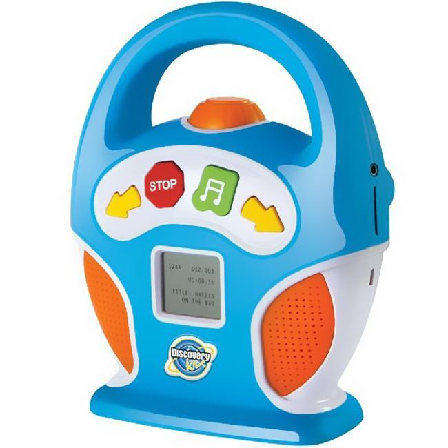 Discovery Kids Boom Box Digital MP3 Player (Refubished)