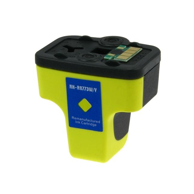 HP-02 Yellow Ink Cartridge (Remanufactured)