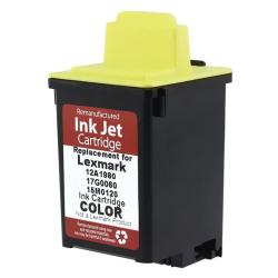 LEX 120 15M0120 Color Ink (Remanufactured)