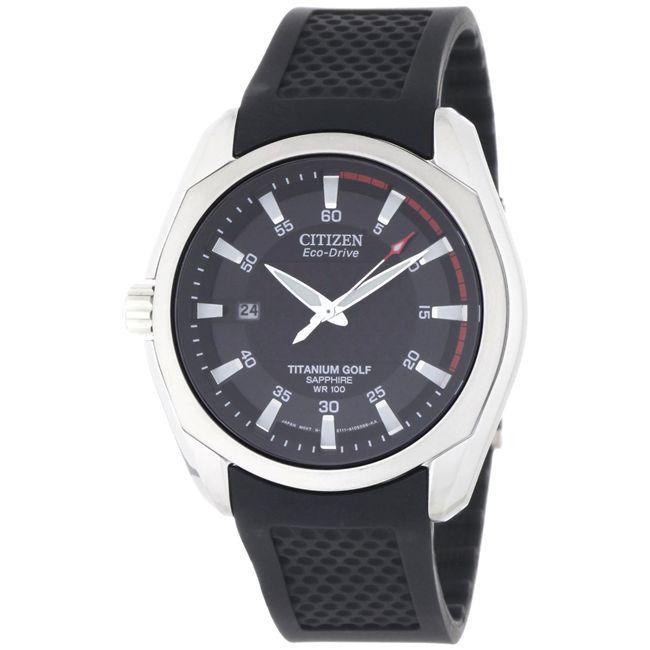 Citizen Men's 'Golf' Titanium Eco-Drive Watch