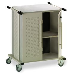 Kwikfile/ Mayline Heavy-duty Mobile X-ray Storage Cart