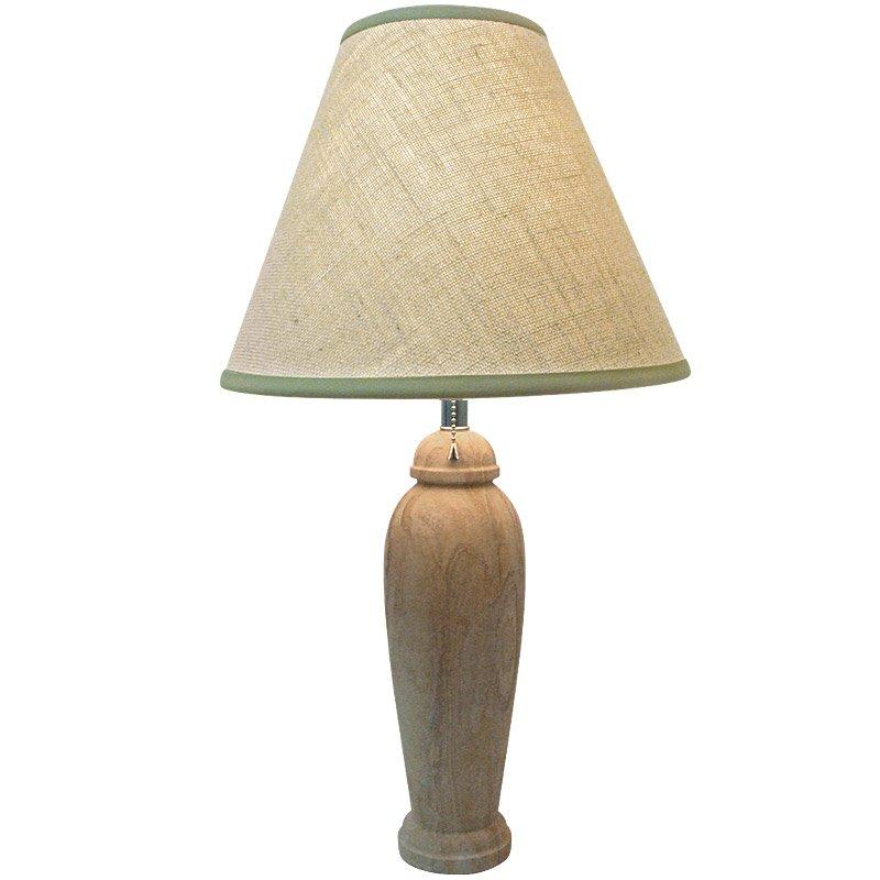Cloudscape Natural Stone 1-light Table Lamp