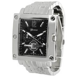 Geneva Platinum Men's Chronograph-style Link Watch