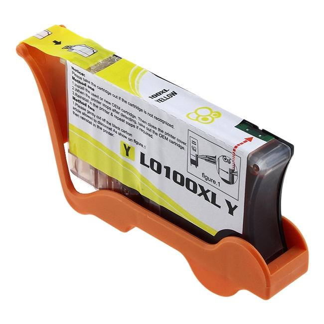 Lexmark 100XL Compatible Yellow Ink Cartridge