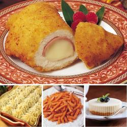 (Preorder) Father's Day Omaha Steaks Chicken Cordon Bleu Classic