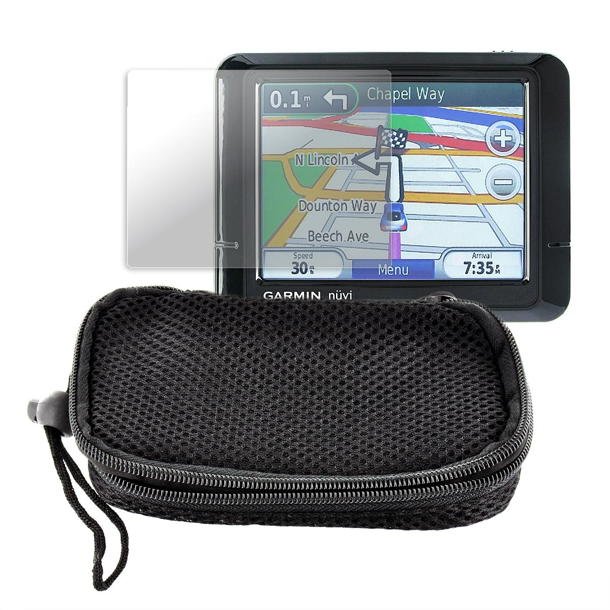 Universal GPS Soft Nylon Case with Screen Protector