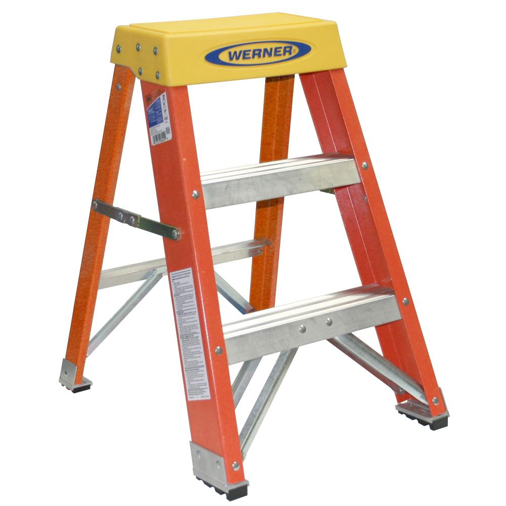 Werner Ladder 2 Foot Step Stool Overstock Shopping Big