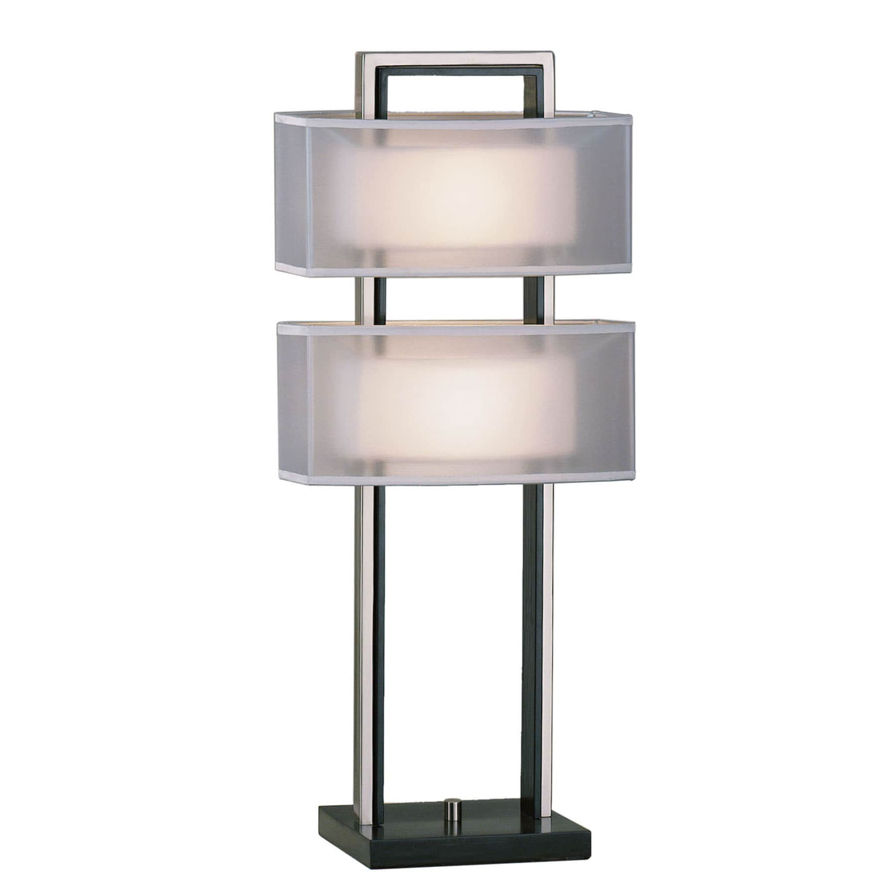 Nova Lighting 'Amarillo' Nickel Finish Table Lamp