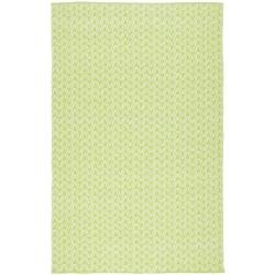 Handmade Thom Filicia Ackerman Key Lime Green Rug (3' x 5')