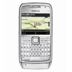 Nokia E71 GSM Unlocked QWERTY Cell Phone (White)