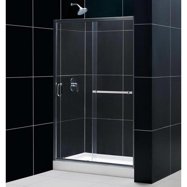 DreamLine Infinity Plus 48x72-inch Brushed Nickel Sliding Shower Door