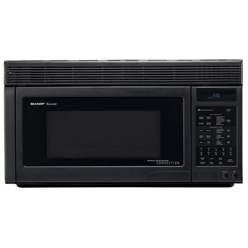 Sharp R1875T 1.1-cu-ft Over-the-range Convection Microwave