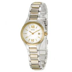 Seiko Women's 'Dress' Two-tone Stainless Steel Quartz Watch