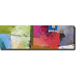 Abstract 'Colorful' Giclee Canvas Art