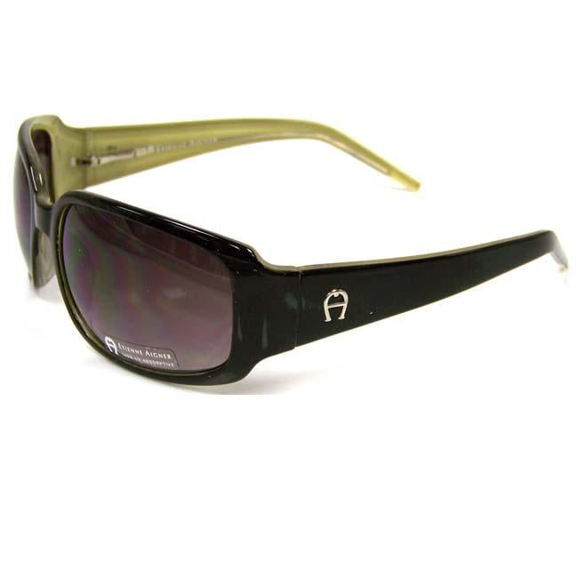 Etienne Aigner 'EA Aquarius' Black Sunglasses