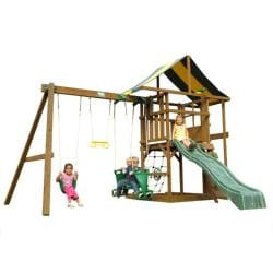 Play Time Andover Series Swing Set with Rope Accessories