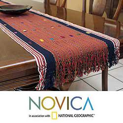 Cotton 'Guatemala Highlands' Table Runner (Guatemala)