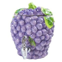 American Atelier 190-ounce Ceramic Grape Beverage Dispenser