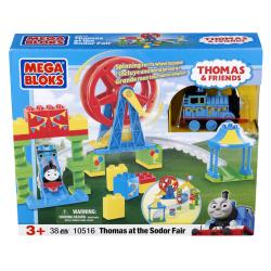 Mega Bloks Thomas at the Sodor Fair Toy Set