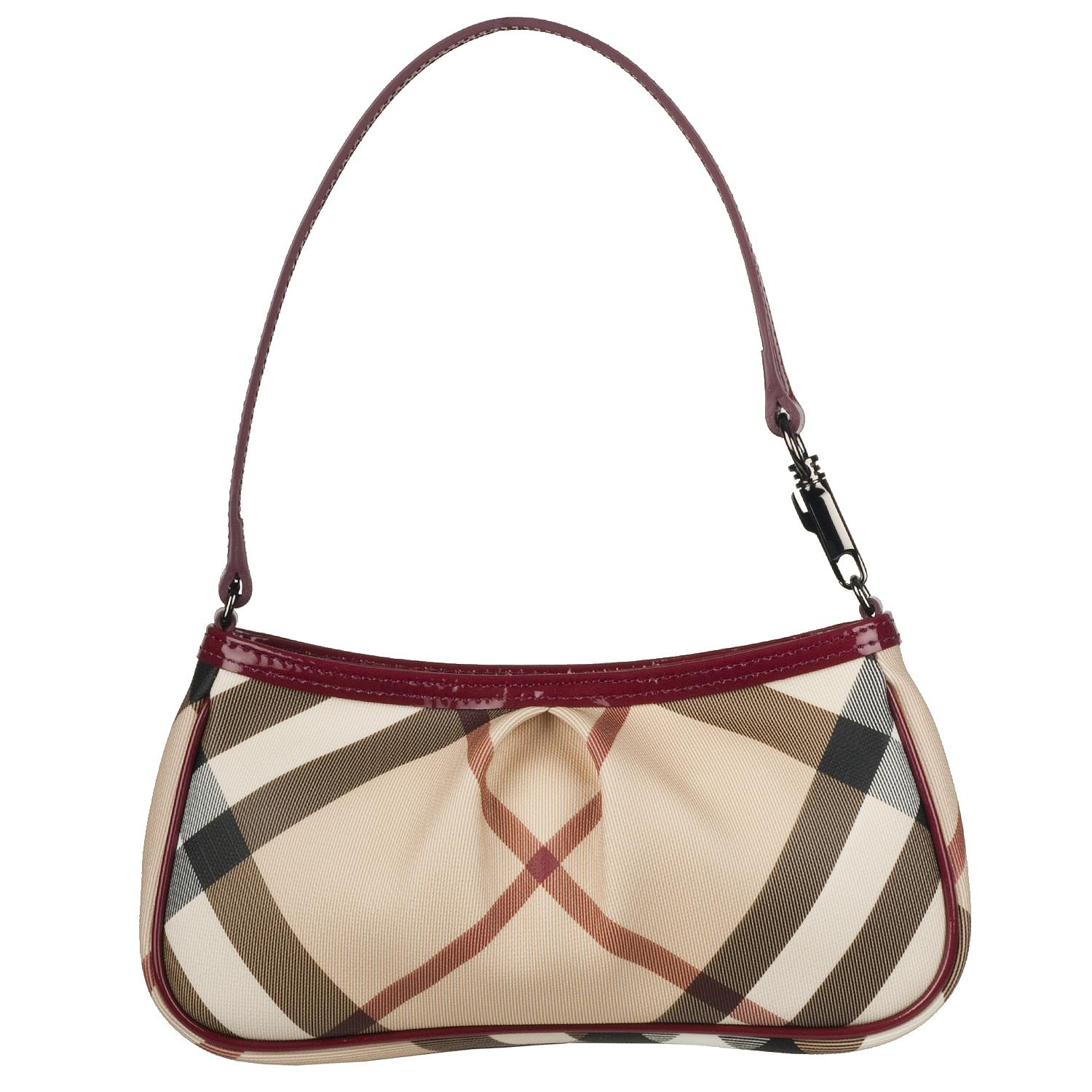 111bb55c057d Burberry Small Nova Check Sling Bag on PopScreen